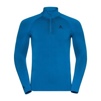 Odlo PERFORMANCE WARM - Camiseta térmica hombre directoire blue/black