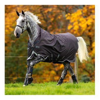 Horseware AMIGO BRAVO - Manta de paddock 400g excal/plum/white/silver