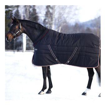 Horseware RAMBO COSY STABLE 400G - Couverture de box blk tan oran blk