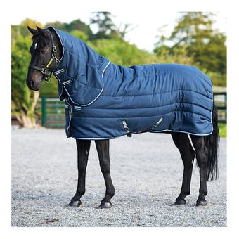 Horseware AMIGO STABLE VARI LAYER PLUS - Couverture de box 450g navy/blue/strong blue/black