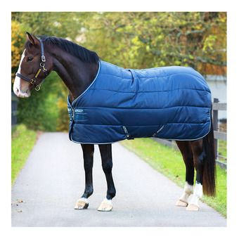 Horseware AMIGO INSULATOR - Couverture de box 100g navy/navy/white