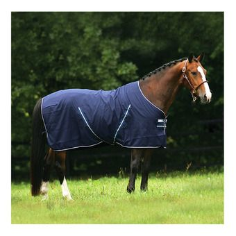 Horseware RAMBO STABLE SHEET - Chemise de box navy/navy/white
