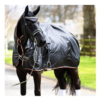 Horseware RAMBO MACK IN A SACK - Couverture imperméable blk tan oran blk