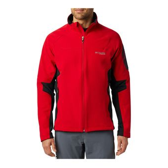 Columbia TITAN RIDGE 2.0 - Veste softshell Homme mountain red/black
