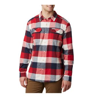 Columbia FLARE GUN - Camicia Uomo sea salt big check