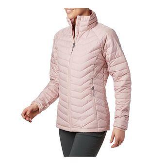 Columbia POWDER LITE - Anorak mujer dusty pink