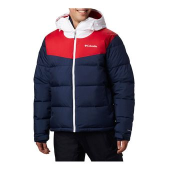 Columbia ICELINE RIDGE - Anorak hombre collegiate navy/mountain red/white