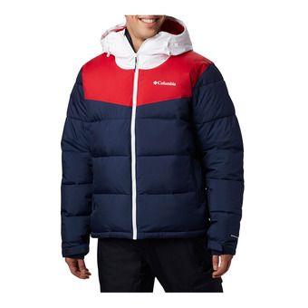 Columbia ICELINE RIDGE - Doudoune Homme collegiate navy/mountain red/white