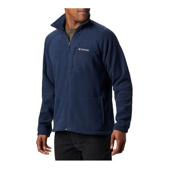 M Fast Trek II FZ Flc-Collegiate Navy Homme Collegiate Navy, Collegiate Navy Zip