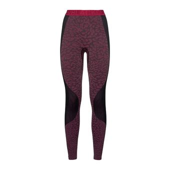 Odlo BLACKCOMB - Collant Femme black/cerise/cerise