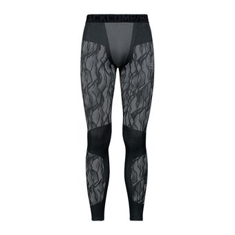 Collant BLACKCOMB Homme black - odlo steel grey - silver
