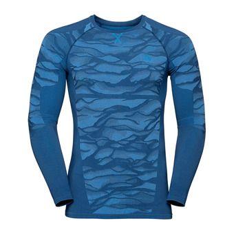 T-shirt ML BLACKCOMB Homme estate blue - directoire blue - directoire blue