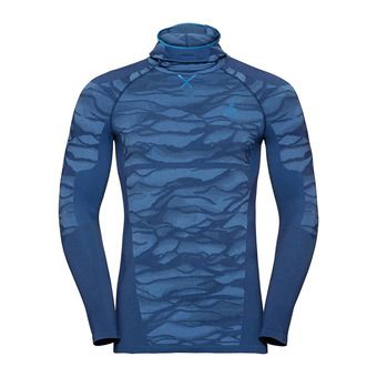 Odlo BLACKCOMB - Camiseta térmica hombre estate blue/directoire blue/directoire blue