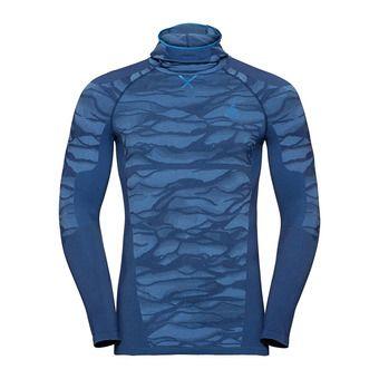 Odlo BLACKCOMB - Sous-couche Homme estate blue/directoire blue/directoire blue
