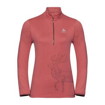 Odlo TRAFOI - Sweat Femme faded rose/placed print