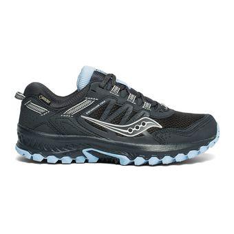 Saucony VERSAFOAM EXCURSION TR13 GTX - Chaussures trail Femme black/blue