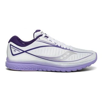Saucony KINVARA 10 - Chaussures running Femme white/purple