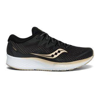 Saucony RIDE ISO 2 - Zapatillas de running mujer black/gold