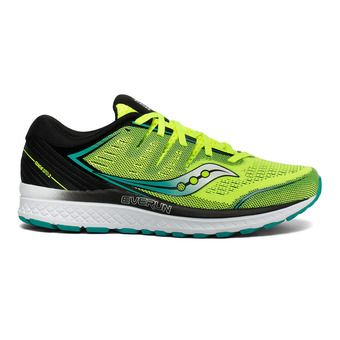 Saucony GUIDE ISO 2 - Chaussures running Homme citron/black