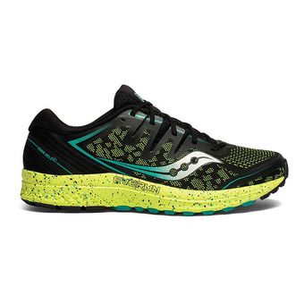Saucony GUIDE ISO 2 TR - Chaussures running Homme black citron