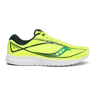 Saucony KINVARA 10 - Chaussures running Homme citron/teal