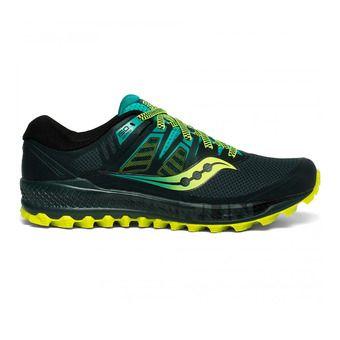 Saucony PEREGRINE ISO - Zapatillas de trail hombre green/teal