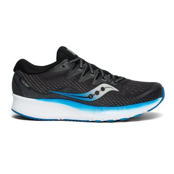 Saucony RIDE ISO 2 - Running Shoes - Men's - black/blue