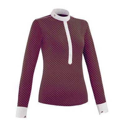 https://static.privatesportshop.com/2331593-7812779-thickbox/horse-pilot-aerolight-show-polo-shirt-women-s-burgundy-dot.jpg