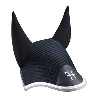 Horse Pilot AEROTECH - Fly cap - black/grey