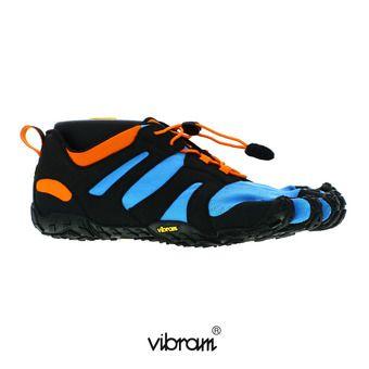 Five Fingers V-TRAIL 2.0 - Chaussures trail Homme bleu/orange