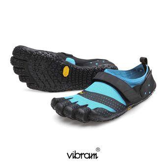 Vibram Five Fingers V-AQUA Femme Noir/turquoise