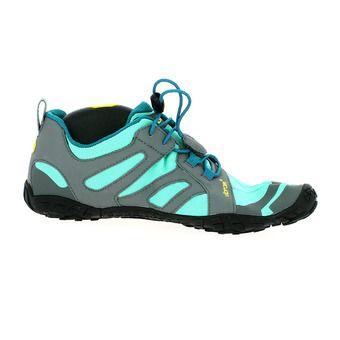 Five Fingers V-TRAIL 2.0 - Chaussures trail Femme bleu/vert
