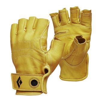 Black Diamond STONE - Fingerless Gloves - natural
