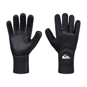 Quiksilver SYNCRO PLUS - Guanti surf 3mm Uomo black