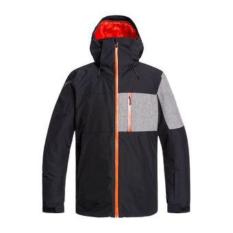 Quiksilver MISSION PLUS - Chaqueta snow hombre black