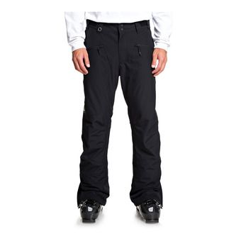 Quiksilver BOUNDRY - Pantalón snow hombre black