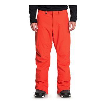 Quiksilver ESTATE - Pantaloni snowboard Uomo poinciana