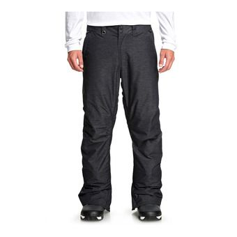 Quiksilver ESTATE - Pantalon snow Homme black heather
