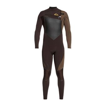 Quiksilver HIGHLINE PLUS - Combinaison 4/3mm Homme velvet brown/dark b