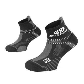 Bv Sport STX EVO - Chaussettes noir/gris