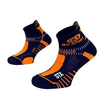 Bv Sport STX EVO - Chaussettes bleu/orange