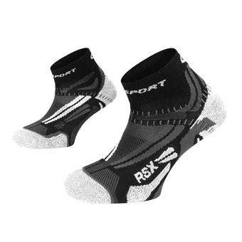 Bv Sport RSX EVO - Chaussettes noir/gris
