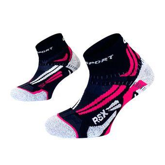Bv Sport RSX EVO - Chaussettes Femme bleu/rose