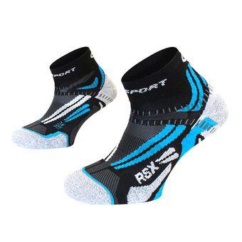 Bv Sport RSX EVO - Chaussettes noir/bleu