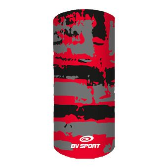 Bv Sport GRAFIK - Neck Warmer - black/red