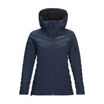 Peak Performance FROST - Down Jacket - Women's - blue shadow