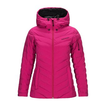 Peak Performance FROST - Down Jacket - Women's - power pink