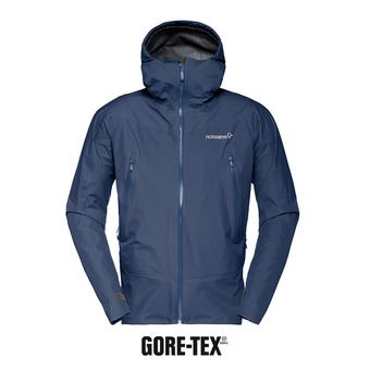 falketind Gore-Tex Jacket (M) Indigo Night Homme