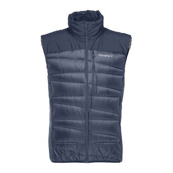 falketind down Vest (M) Indigo Night Homme