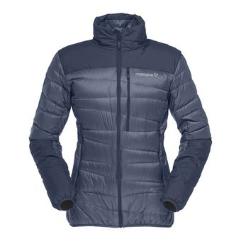 falketind down Jacket (W) Indigo Night Femme